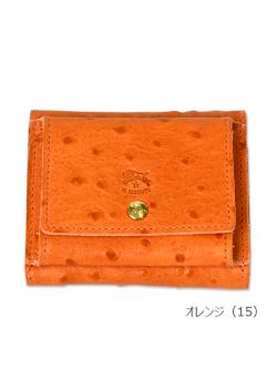 イルビゾンテ【折財布 54172305540】オレンジ