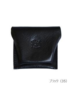 イルビゾンテ【コインケース 412225】ブラック