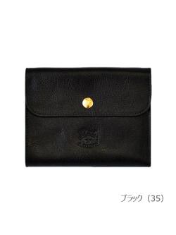 イルビゾンテ【折財布 412229】ブラック