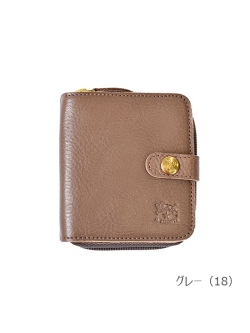 IL BISONTE イルビゾンテ【折財布 54172309440】グレー