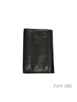IL BISONTE イルビゾンテ【手帳 410961】ブラック